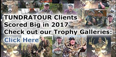 TUNDRATOUR Client Trophy Gallery